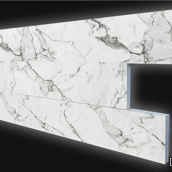 DP910 Mermer Görünümlü Dekoratif Duvar Paneli