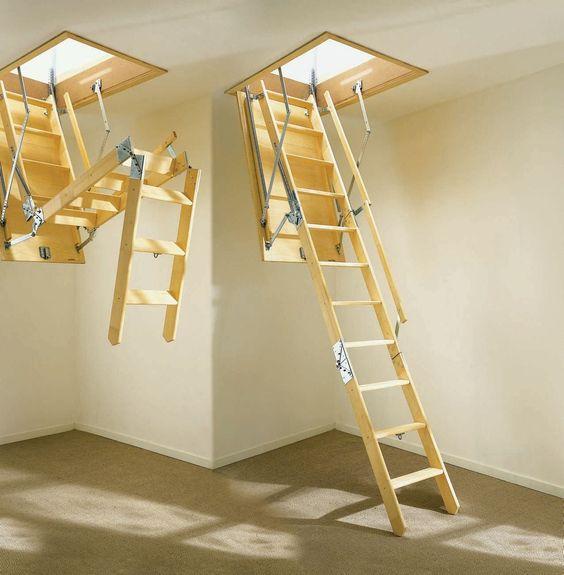 Katlanır çatı merdiveni