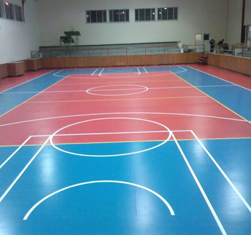 Spor salonu zemin düzeltme